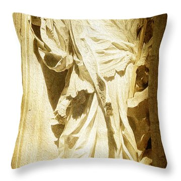 Saint Vincent De Paul At Vatican Throw Pillow