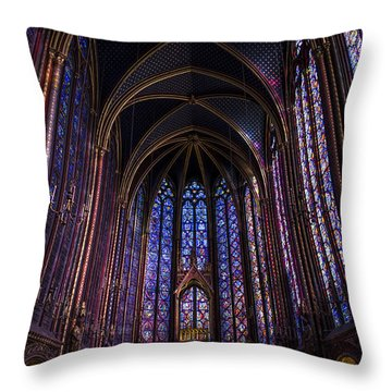Sainte Chapelle Throw Pillow