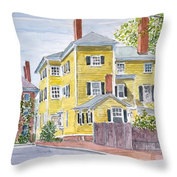 Salem Throw Pillow by Anthony Butera