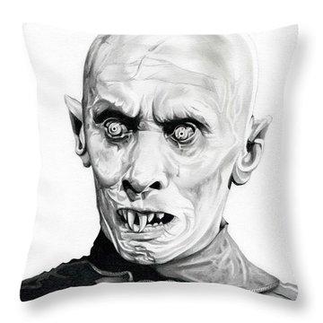 Salem's Lot Throw Pillow