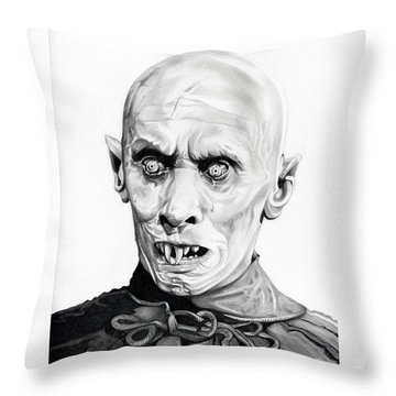 Salem's Lot Throw Pillow by Fred Larucci