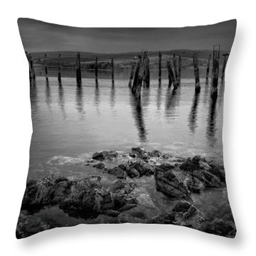 Salen Pier 2 Throw Pillow
