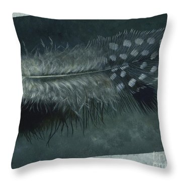 Sal's Feather Throw Pillow
