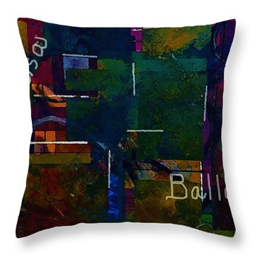Salsa Ballet Throw Pillow by Lisa Kaiser