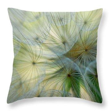 Salsifis D'orient Throw Pillow by Elaine Manley
