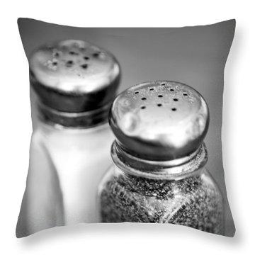 Salt And Pepper Shaker Throw Pillow