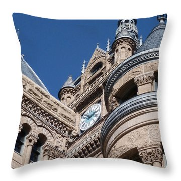 Throw Pillow featuring the photograph Salt Lake City - City Hall - 1 by Ely Arsha