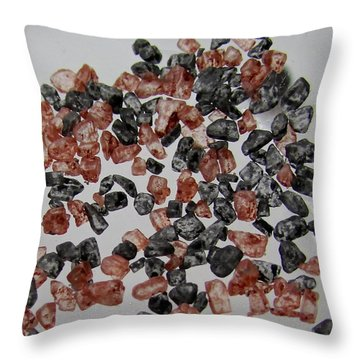 Throw Pillow featuring the photograph Salt Of The Earth by Brenda Pressnall