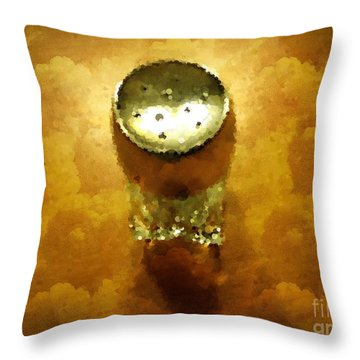 Salt Of The Earth Throw Pillow by Mary Machare