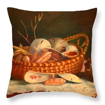 Salty And Sweet Throw Pillow