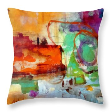 Salvage Throw Pillow