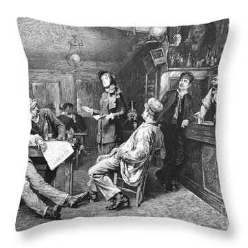 Salvation Army, 1887 Throw Pillow by Granger