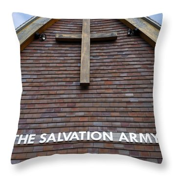 Salvation Throw Pillow by Doug Wilton