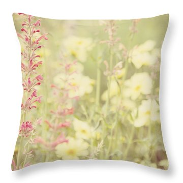 Salvia Flower 1 Throw Pillow