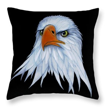 Sam Throw Pillow by Adele Moscaritolo