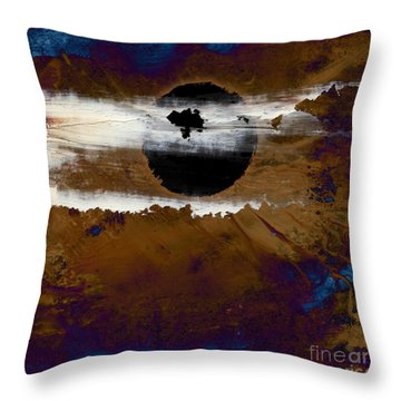 Samhain I. Winter Approaching Throw Pillow