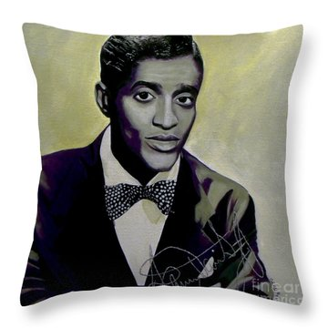 Sammy Davis Jr. Throw Pillow