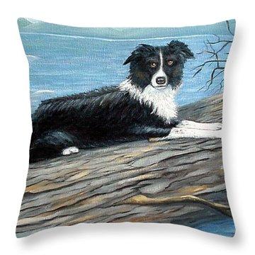 Sammy Mcdonald Throw Pillow