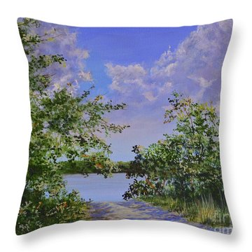 Sam's Cove Throw Pillow