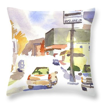 Sam's Service Throw Pillow by Kip DeVore