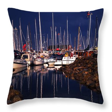 Samsoe Island Denmark Throw Pillow