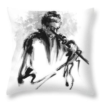 Kendo Throw Pillows