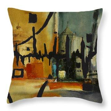 San Antonio 003 B Throw Pillow by Corporate Art Task Force