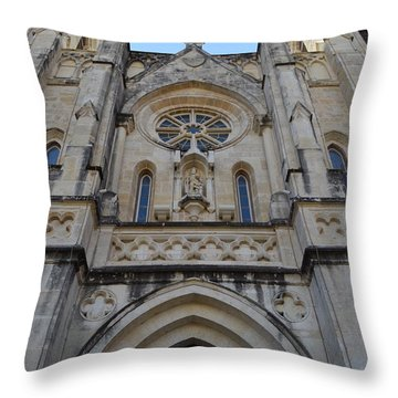 San Antonio Church 02 Throw Pillow