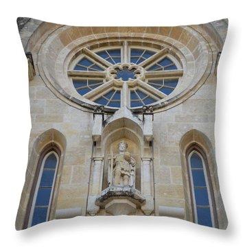 San Antonio Church 03 Throw Pillow by Shawn Marlow