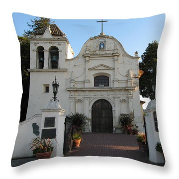 San Carlos Cathedral Throw Pillow by James B Toy