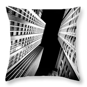 San Central Bw Throw Pillow