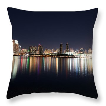 San Diego Ca Throw Pillow by Gandz Photography