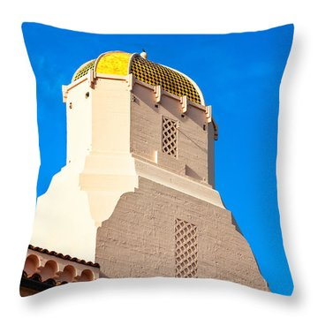 San Diego Church Throw Pillow