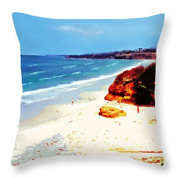 San Diego Morning Throw Pillow