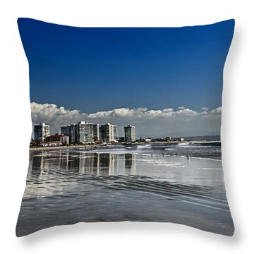 San Diego Throw Pillow by Robert Bales