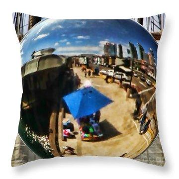 San Diego Round Up By Diana Sainz Throw Pillow
