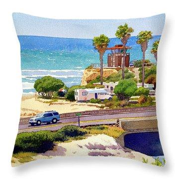 Highway Throw Pillows