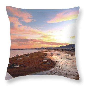 San Felipe Sunset 04 Throw Pillow