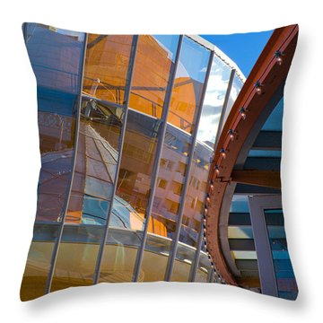 San Francisco Childrens Museum Throw Pillow