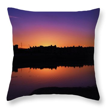 Throw Pillow featuring the photograph San Francisco Daze by Sean Sarsfield