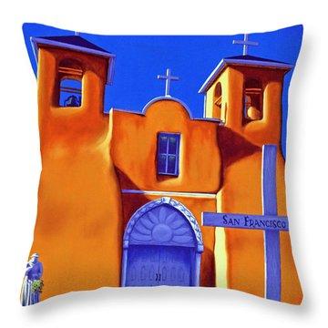 San Francisco De Asis Throw Pillow