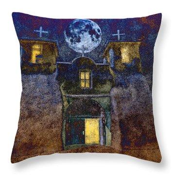 San Francisco De Assisi Mission Church Throw Pillow