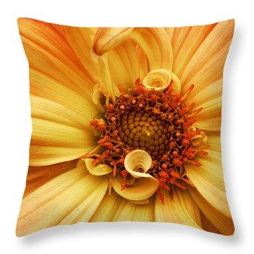 San Francisco Flower Throw Pillow