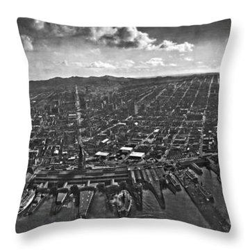 San Francisco Panorama Throw Pillow