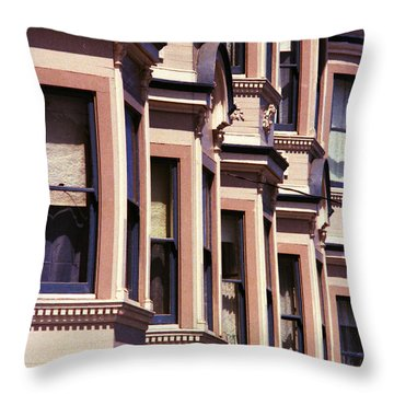 Throw Pillow featuring the photograph San Francisco Sunshine  by Ira Shander