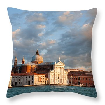 San Giorgio Island Throw Pillow