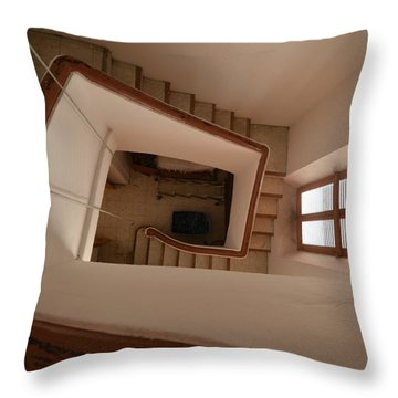 San Jose Belltower Throw Pillow