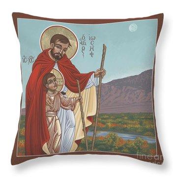 San Jose En El Rio Grande 268 Throw Pillow