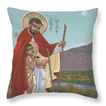 San Jose En El Rio Grande 268 Throw Pillow