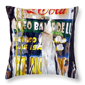 San Pancho Throw Pillow by Michael Ward